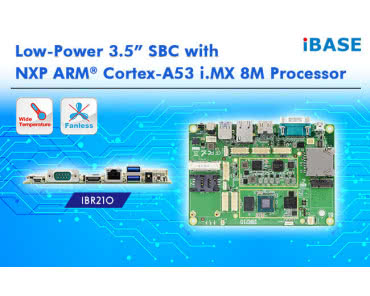 "Low-Power 3.5"" SBC z procesorem NXP ARM® Cortex-A53 i.MX 8M"